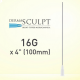 "Dermasculpt Facial Graft Blunt Tip Microcannula 16G x 4"" 100mm EO-B-008 20/Box"