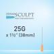 Dermasculpt Facial Filler Injection Microcannula 25G x 1 1/2 38mm EO-B-003