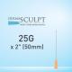Dermasculpt Facial Filler Injection Microcannula 25G x 2 50mm EO-B-006