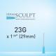 Dermasculpt Filler Injection Blunt Tip Microcannula 23G x 1 1/8 29mm EO-B-011