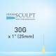 """Dermasculpt Precise Facial Filler Microcannula 30G X 1"""" - 25mm"""